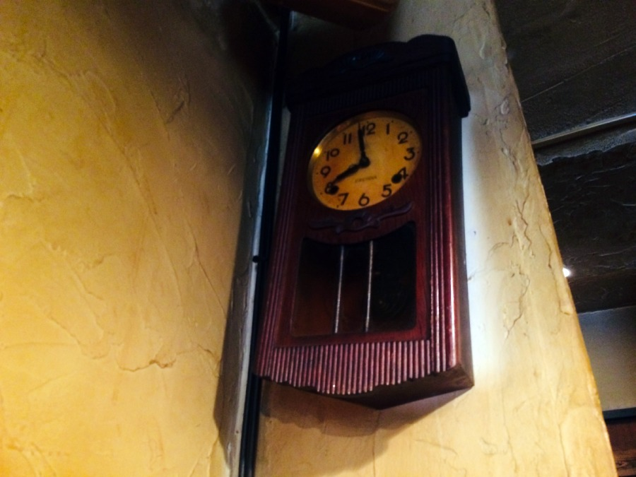 牆上的時鐘