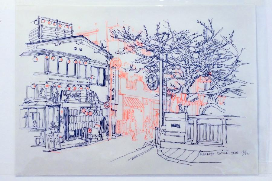 mariyasuzuki所畫的街頭