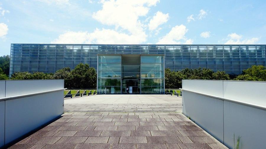 國立國會圖書館關西館入口