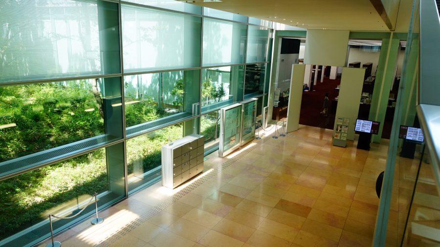 國立國會圖書館關西館閱覽室入口