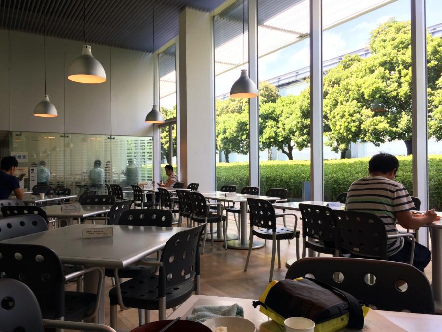 國立國會圖書館關西館食堂