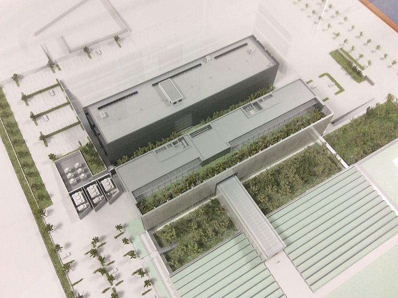 國立國會圖書館關西館建築模型
