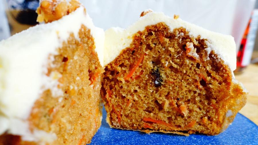 英式紅蘿蔔蛋糕斷面秀
