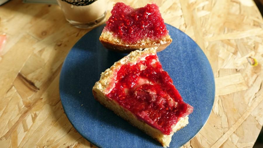 維多利亞海綿蛋糕(樹莓甜橙口味)