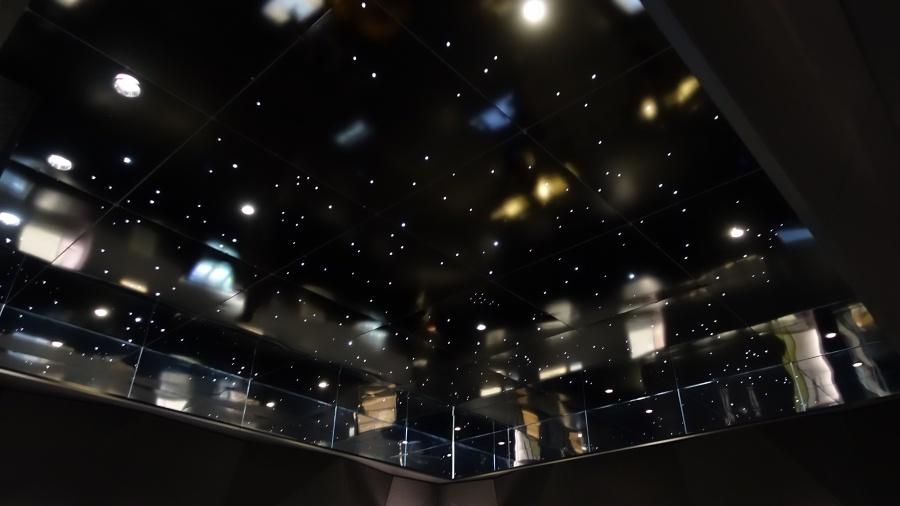 墨田北齋美術館常設展空間的天花板