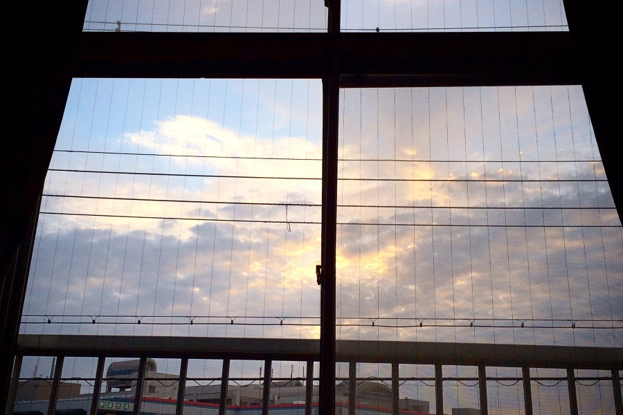 share house房間窗外景色