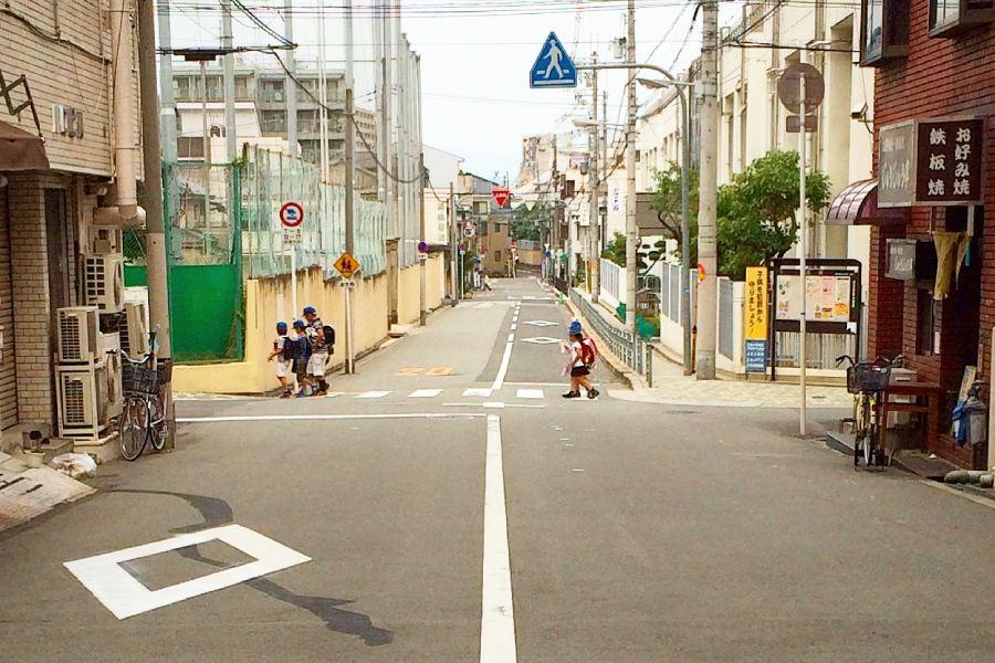 大阪住宅區街景