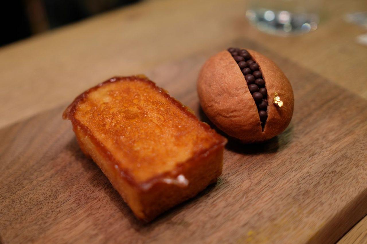 代代木公園365日蜂蜜吐司和巧克力球麵包