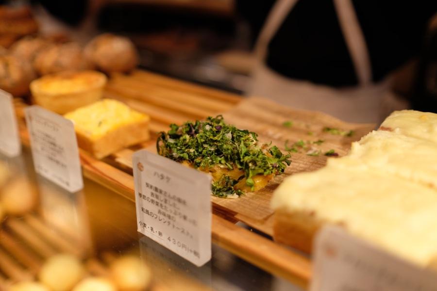 代代木公園365日店內麵包
