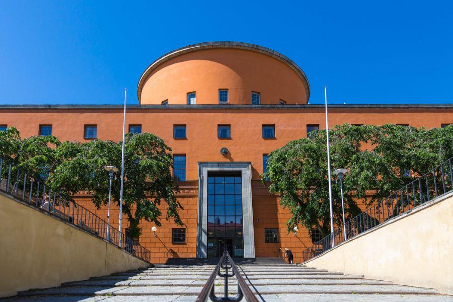 斯德哥爾摩公共圖書館 Stockholms stadsbibliotek