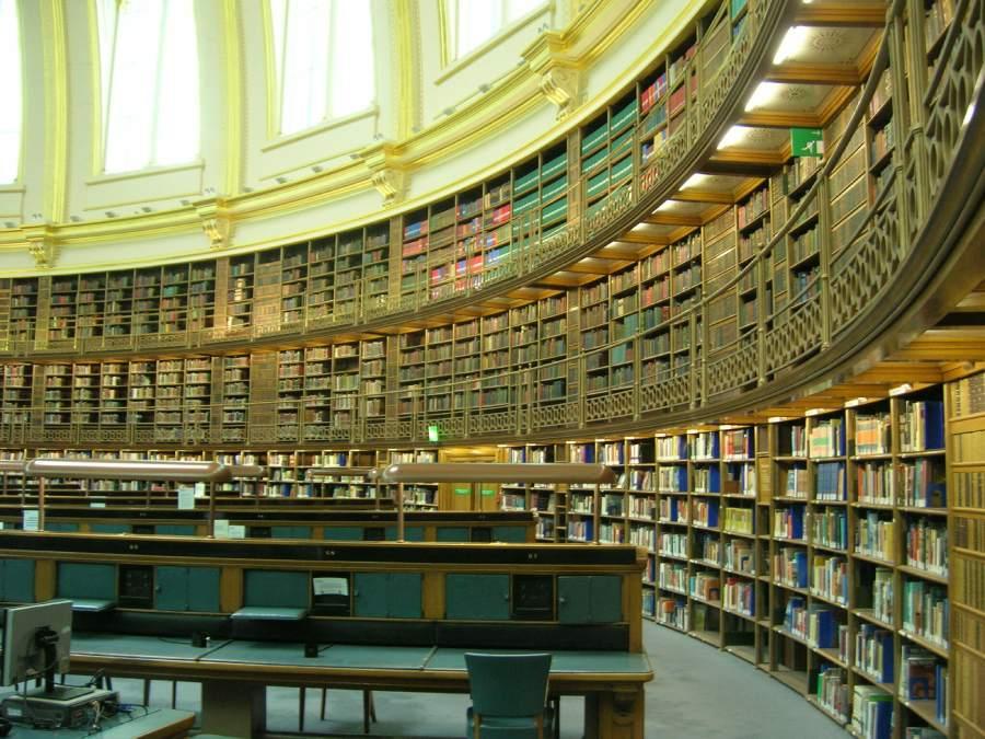 大英博物館的圖書 British Museum Reading Room