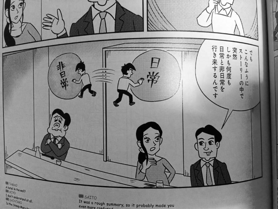村上春樹小說裡日常與非日常的片段